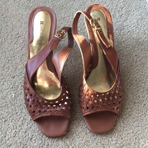 Brown Naturalizer Sandals -Size 8 1/2